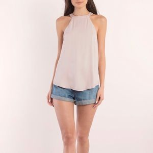 Tobi Reign Blush Tank Top Medium NWT